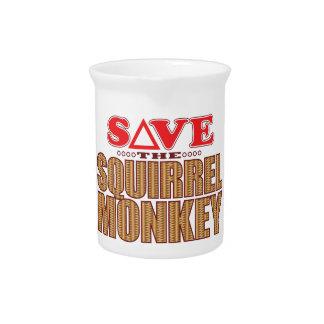 Squirrel Monkey Save Pitcher