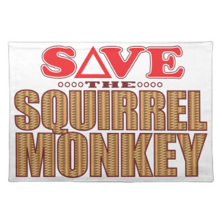 Squirrel Monkey Save Placemat
