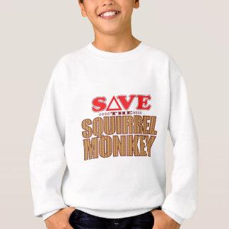 Squirrel Monkey Save Sweatshirt