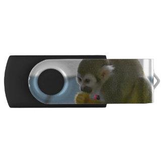 Squirrel Monkey Swivel USB 2.0 Flash Drive