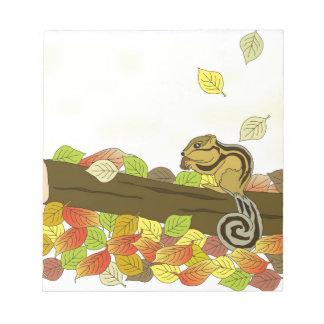 Squirrel Notepad