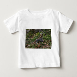 Squirrel On Forest Floor Baby T-Shirt