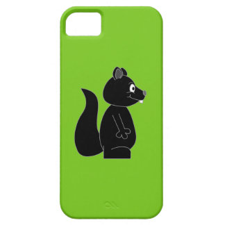 Squirrel on Green Background Case For The iPhone 5