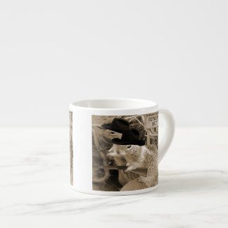Squirrel Outlaws In The Old West Espresso Cup