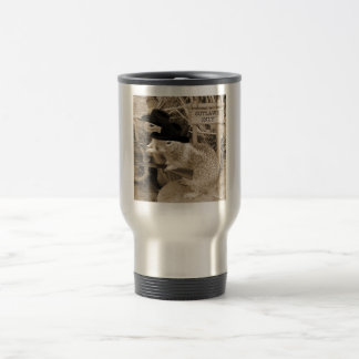 Squirrel Outlaws In The Old West Travel Mug