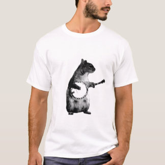 squirrel playing a banjo T-Shirt