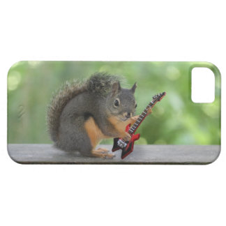 Squirrel Playing Electric Guitar Case For The iPhone 5