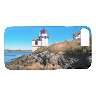 Squirrel Point Lighthouse, Kennebec River, Maine iPhone 7 Case