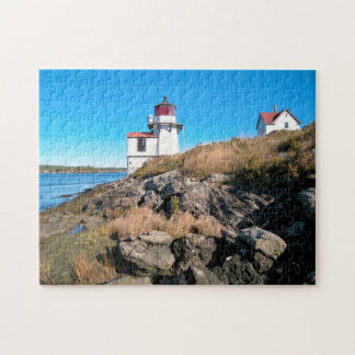 Squirrel Point Lighthouse, Kennebec River, Maine Jigsaw Puzzle