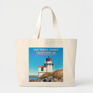 Squirrel Point Lighthouse, Maine Tote Bag