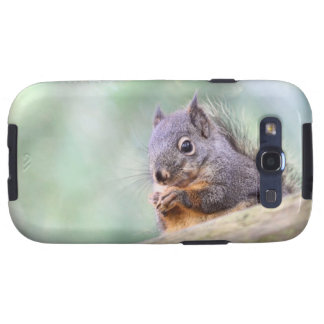 Squirrel Praying for Peanuts Galaxy S3 Covers