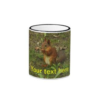 Squirrel Ringer Mug