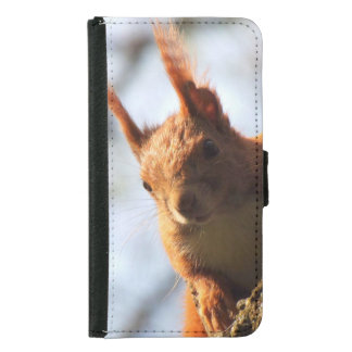 Squirrel Rodent Mammal Samsung Galaxy S5 Wallet Case