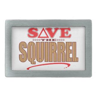 Squirrel Save Belt Buckle