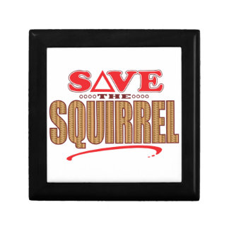 Squirrel Save Gift Box