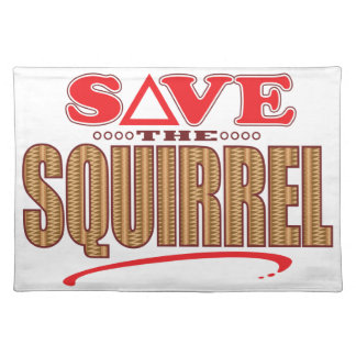 Squirrel Save Placemat