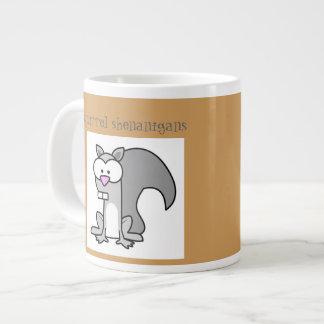 squirrel Shenanigans Giant Coffee Mug