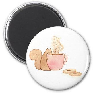 Squirrel Snack Magnet