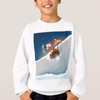 Squirrel Snowboarding Sweatshirt