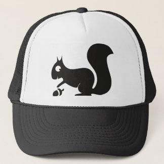 Squirrel squirrel chipmunk trucker hat