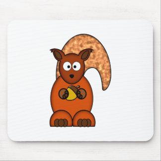 Squirrel squirrel mousepads