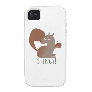 Squirrel Stingy Case-Mate iPhone 4 Cover