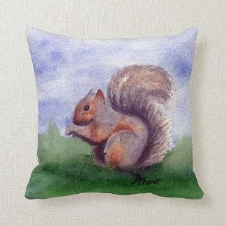 Squirrel Study Cushion