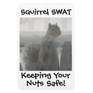 Squirrel SWAT Magnet