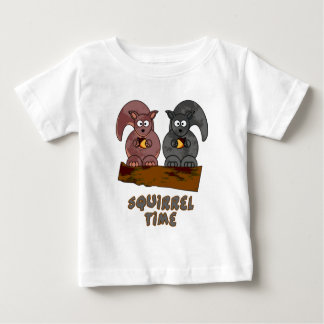 Squirrel Time Baby T-Shirt