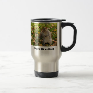 Squirrel Travel Coffee Travel Mug