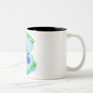 squirrel Two-Tone coffee mug