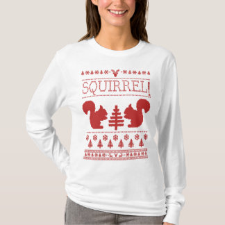 Squirrel Ugly Christmas Sweater