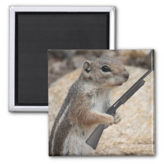 Squirrel Vengeance Magnet