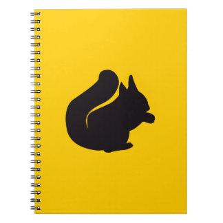 Squirrel Vintage Wood Engraving Notebooks