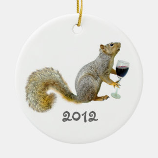 Squirrel Wine 2012 Ornament