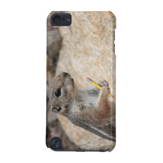 Squirrel With a Pencil iPod Case iPod Touch 5G Cases