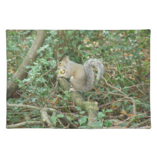 Squirrel with Acorn Placemat