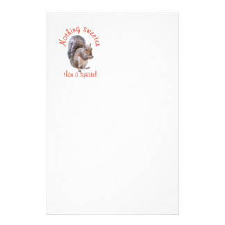 Squirrels are Sweet Stationery