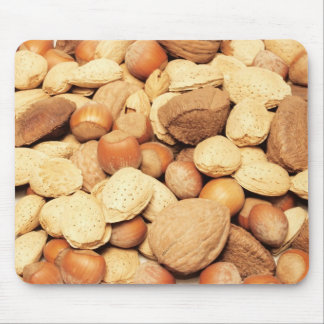 Squirrel's Bounty Nut Mix Mouse Pad