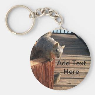 Squirrels Key Ring