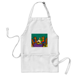 Squirrels  lunch by Piliero Standard Apron