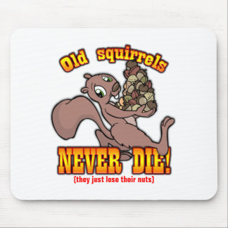 Squirrels Mouse Pad
