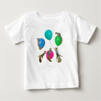 Squirrels on Balloons Shirt