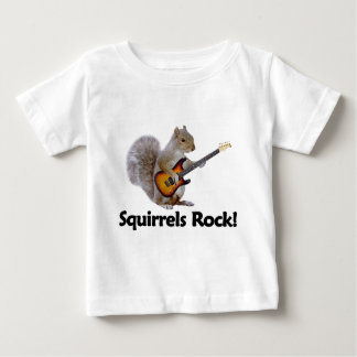 Squirrels Rock! Baby T-Shirt