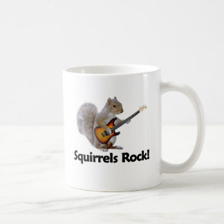 Squirrels Rock! Coffee Mug