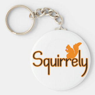 Squirrely Key Ring