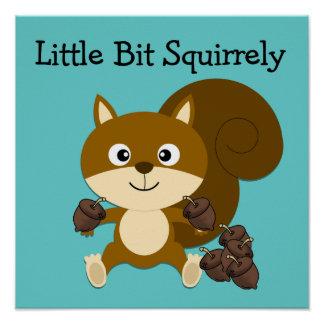 Squirrely Print