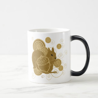 Squirrely squirrel coffee mugs