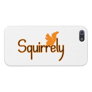 Squirrely Squirrel iPhone 5/5S Case