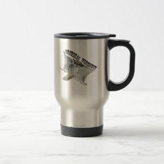 Squirrl base stainless steel travel mug